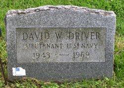 David W Driver