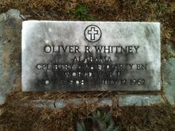 Oliver R. Whitney