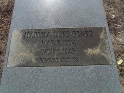 Martha Jayne <I>Mauldin</I> Luke Beard