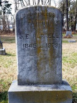 Jane Shields <I>Hatton</I> Herrell