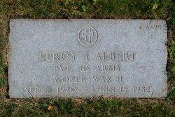Leroy J Albert