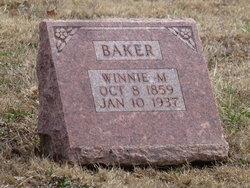 Winnifred Malinda <I>Mitchell</I> Baker