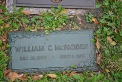 William C McFadden