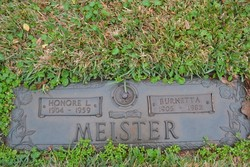 Honore L Meister
