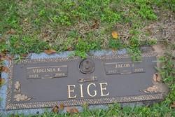 Virginia K Eige