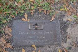 Gerald Eugene Hursh