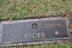 Lieut David W Ryder