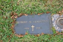 Robert M Stafford