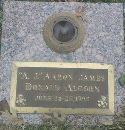 """Aaron James Donald """"A. J."""" Alcorn"""