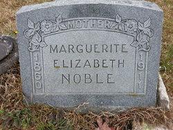 Marguerite Elizabeth <I>Pugh</I> Noble