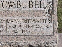Marguerite <I>Pratt</I> Bubel