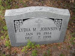 Lydia M. Johnson