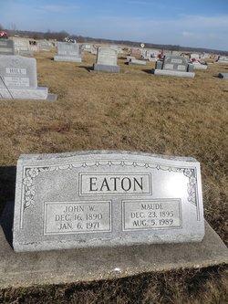 Maude <I>McLain</I> Eaton