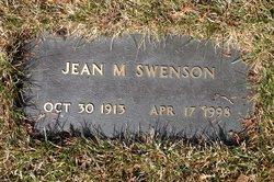 Jean M Swenson