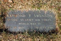 Raymond T Swenson