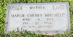Margie Juanita <I>Cheney</I> Mitchell