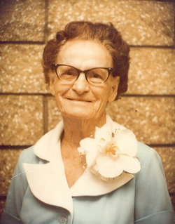 Mary Edna <I>Connell</I> Parks