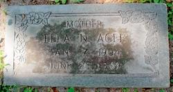 Ella Nora <I>Hardin</I> Agee