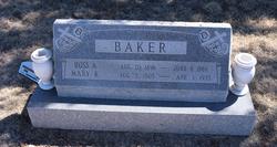Ross Alvin Baker