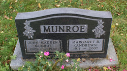 "John Madden ""Madden"" Munroe"