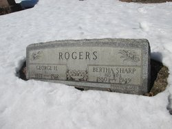 Bertha <I>Sharp</I> Rogers