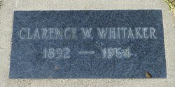 Clarence W. Whitaker