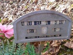 Annie Eliza <I>Morgan</I> Morgan