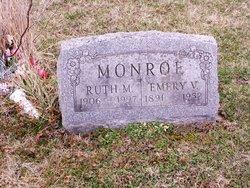 Ruth M. <I>Hinkle</I> Monroe