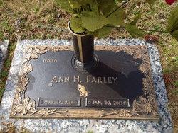 Ann <I>Hardy</I> Farley