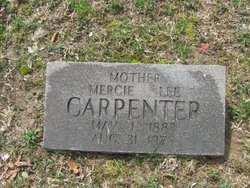 Mercie Lee <I>O'Dell</I> Carpenter