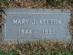 Mary Jane <I>Reece</I> Keeton