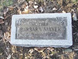 Barbara <I>Fleck</I> Mayer
