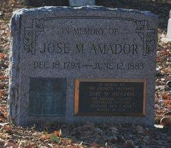 Jose Maria Amador y Noriega