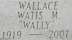 "Watis Mearl ""Wally"" Wallace"
