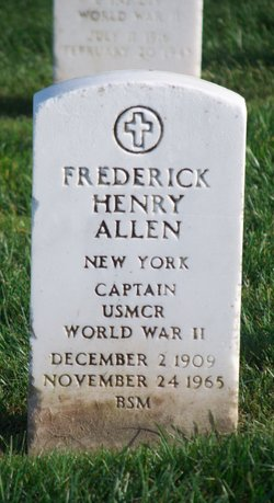 Frederick Henry Allen