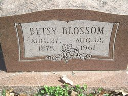 Betsy <I>Pigeon</I> Blossom