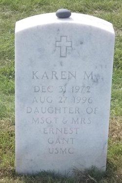 Karen M Gant