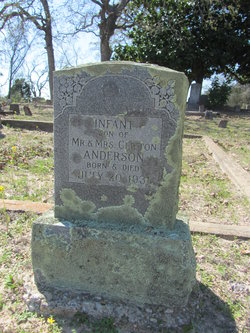 Infant Son of Clifton and Ora Dee Anderson