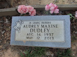 Audrey Maxine Dudley