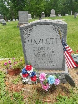 Loretta Mae <I>Oakden</I> Hazlett