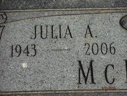 """Julia Ann """"Judy"""" <I>Reece</I> McIntosh"""