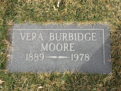 Vera <I>Burbridge</I> Moore