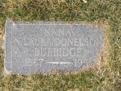 N Laura <I>Donaldson</I> Burbridge