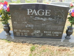 Willie Carolyn Page