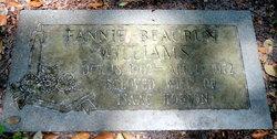 Fannie Beaurun <I>Duckworth</I> Williams