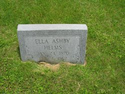 Ella <I>Ashby</I> Helms