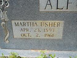 Martha <I>Usher</I> Alford