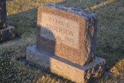 Clara Ella <I>Yohn</I> Anderson
