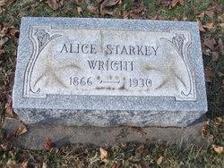 Alice <I>Starkey</I> Wright