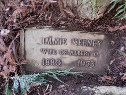 Jimmie <I>Johnson</I> Keeney